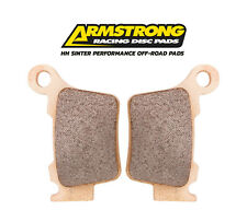NEW HUSQVARNA TE310 4 STROKE 09-13 ARMSTRONG OFF ROAD SINTER REAR BRAKE PADS