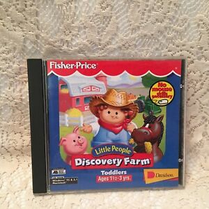 Fisher-Price Discovery Farm Toddlers CD-ROM Windows 95/3.1/Mac