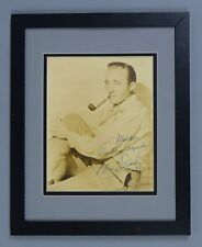 BING CROSBY SIGNED AUTO AUTOGRAPH VINTAGE 1937 11X14 PHOTO DISPLAY PSA/DNA