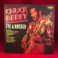 CHUCK BERRY I'm A Rocker 1970 UK Vinyl LP EXCELLENT CONDITION best of