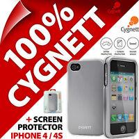 Cygnett Metalicus Aluminium Case Protective Hard Cover for Apple iPhone 4 / 4S
