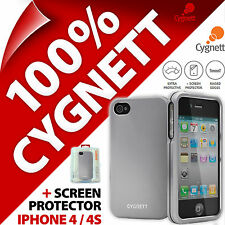NUOVA Custodia Cygnett Metalicus in alluminio per Apple iPhone 4/4S Rigida Protettiva Cover