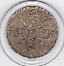 1919   King  George  V   Florin  (2/-)   Silver (92.5%)  Coin