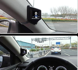 Car GPS Speedometer Dual System MPH Engine RPM Over Speed Alarm  Auto Odometer