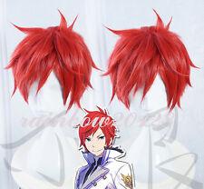 Red Re:Zero kara Hajimeru Isekai Seikatsu Reinhard Van Astrea Anime Cosplay Wig