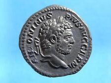 EF Imperial Roman AR Denarius Of Caracalla As Aug. R: Jupiter 211-217 AD. (C269)