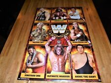 WWE 17' Legends Poster 22 X 34 WWF Ric Flair Ultimate Warrior JYD HBK Stone Cold