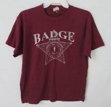 Orange County Sheriff's Badge Program burdungy graphic t-shirt *Sz XL*