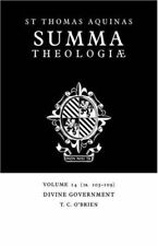 Summa Theologiae: 1a. 103-109: Divine Government v. 14 (Summa Theologiae (Cambri