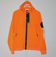 Stone Island Light Soft Shell-R Jacket Orange sz L