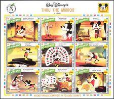 St. Vincent 1992 Disney Mickey Mouse/Thru Mirror s5767