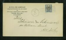 Dominican Republic 1914 Commercial Cover Santo Domingo to Ny franked Scott 181