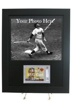 Sports Card Frame for YOUR BVG Graded Card & 8x10 Photo Opening (New-Horizontal)