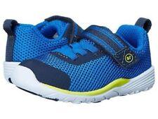 New STRIDE RITE Athletic Shoes Dimitri Blue Memory Foam Toddler 4 M