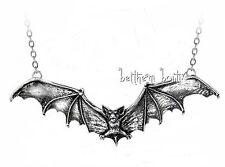 Goth : Alchemy Collier Chaine & Pendentif Chauve Souris Gothic Bat Gothique