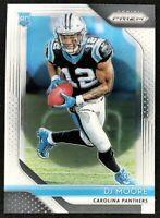 2018 Panini Prizm DJ Moore Rookie Base #207 RC - Panthers