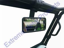 UTV Folding Mirror Fits: Polaris RZR, Teryx, MULE, Can-Am Maverick 13155 Rectang