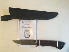"Damascus Steel Custom Handmade Knife ""Kardinal"" by Nazarov Forge"