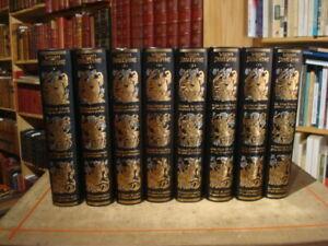 W. SHAKESPEARE Oeuvres complètes Jean de Bonnot 1982 8 vol. Exemplaires de tête