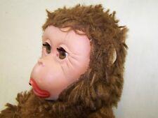 DDR Plüschtier mit Gummigesicht, Spielzeug Affe, Monkey