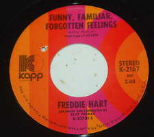 Freddie Hart 45 Funny Familiar Forgotten Feelings / Only You  NM