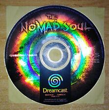 THE NOMAD SOUL (PAL) - SEGA DREAMCAST *ONLY CD* *TRACKED* *BEST OFFER*