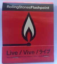 Rolling Stones Flashpoint Promo Matches 1991 Mint!