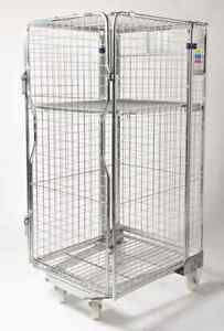 Full Security Portable Site Cage / Trolley / Roll Cage / Moving Storage