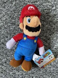Super Mario Bros - Mario - Soft Toy - 21cm (New)