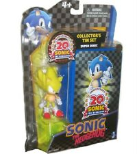 Super Sonic the Hedgehog 20th Anniversary W Collector's tin set New Factory Seal