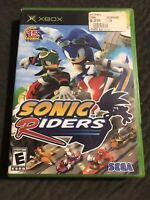 Sonic Riders The Hedgehog *Microsoft Xbox* Complete w/ Manual
