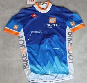 Mens Castelli Cycling Team Short Sleeve Jersey Size XS BNWT ,Rare