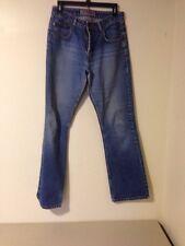 SILVER JEANS Sz 30x32 Button Fly Blue Jeans Measures 30X32