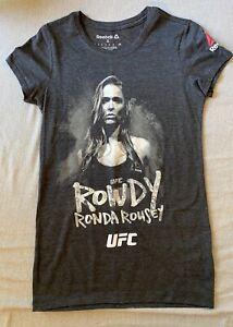 Ronda Rousey, UFC Reebok, T-Shirt, Women's Size Small