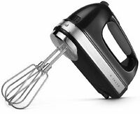 KitchenAid Powerful Hand Mixer rrKHM9ob  KHM9ob 9 speed DIGITAL Onyx Black