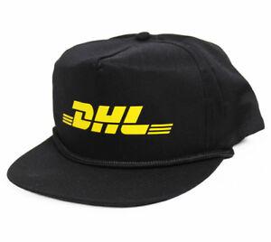 Vintage DHL hat cap mercedes benz snapback 5 panel vetements skate NEW