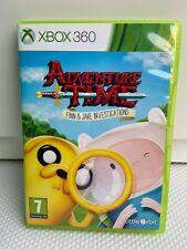 Hora De Aventura: Finn y Jake investigaciones-Xbox 360-Excelente Estado