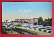 Ansichtskarte Bahnhof Gosslershausen/Jabłonowo (K.Strasburg) ca.1910 Preußen