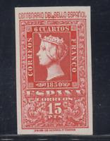 ESPAÑA (1950) MNH NUEVO SIN FIJASELLOS - EDIFIL 1078 (15 pts) CENTENARIO LOTE 1