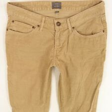 Mesdames Womens Levis BOLD CURVE SKINNY Brown cordons Jeans W30 L30 UK taille 10