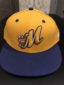Montgomery Biscuits New Era 5950 Hat Cap Size 7 1/4 NWT Made In USA