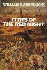 RARE EO ANGLAISE WILLIAM S. BURROUGHS + BELLE DÉDICACE : CITIES OF THE RED NIGHT