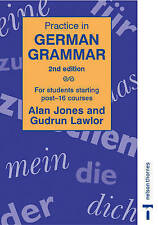 Practice in German Grammar (Practice in Grammar) (English and German-ExLibrary