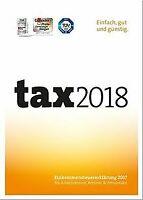 Tax 2018 (für Steuerjahr 2017) | PC | Disc von Buhl ... | Software | Zustand gut