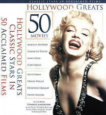 Hollywood Greats: 50 Movies (DVD, 2015, 3-Disc Set)