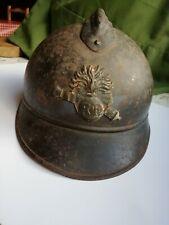 """1 Casque Français WW1 """"de poilu"""""""