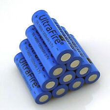 10pcs TR 14500 3.7V 1200mAH Lithium Li-ion Rechargeable Battery Batteries USA