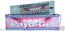 20gm Dr.Jaikaran Payo-gel for relief from Gingivitis,Pyorrhea,bleeding gums etc.