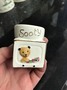 Keele Street Pottery Sooty Egg Cup