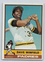 1976  DAVE WINFIELD - Topps Baseball Card # 160 - SAN DIEGO PADRES